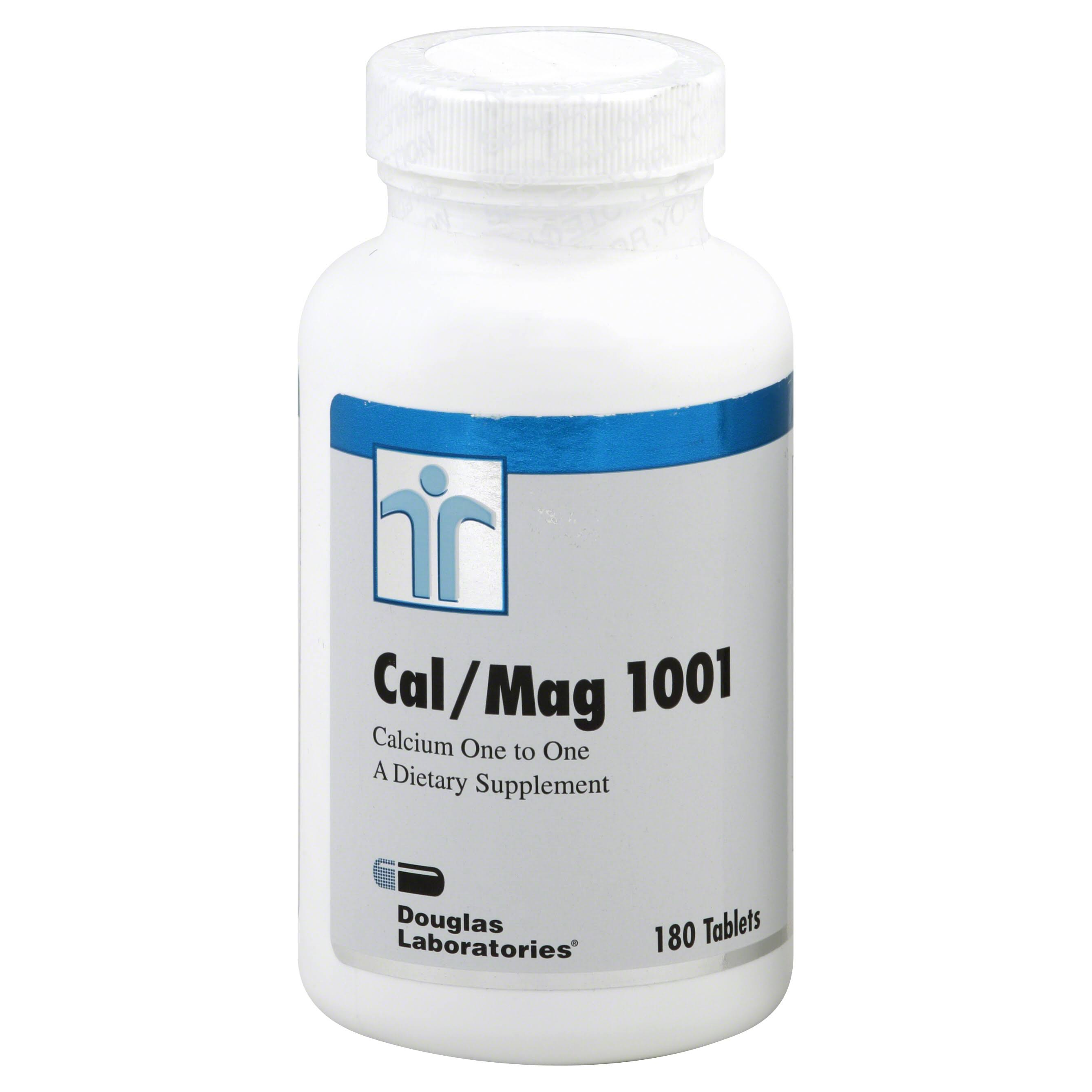 Douglas Laboratories Cal/Mag 1001, Tablets - 180 tablets