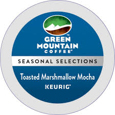 Mccafe Pumpkin Spice Keurig by Green Mountain Coffee Toasted Marshmallow Mocha K Cup 72 Count