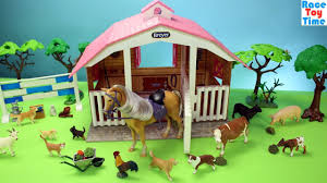 Horse Stable Breyer Playset And Toy Barn Farm Animals - Fun Toys ... Saddle Up With The Sleich Horse Club Riding Centre The Toy Insider Grand Stable Barn Corral Amazoncom Melissa Doug Fold And Go Wooden Ikea Hack Knagglig Crate For Horses Best Farm Toys Photos 2017 Blue Maize Breyer Stablemates Red Set Kids Ebay Life In Skunk Hollow Calebs Model How To Make Stall Dividers A Box Toy Horse Barns Sale Ideas Classics Country Wash Walmartcom Kid Friendly Youtube Traditional Deluxe Wood Cupola