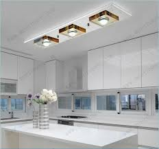modern led ceiling light fixture flush mounted square glass led