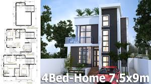 SketchUp Home Plan 7.5x9m With 4 Bedroom Home Design Idea - YouTube Sketchup Home Design Lovely Stunning Google 5 Modern Building Design In Free Sketchup 8 Part 2 Youtube 100 Using Kitchen Tutorial Pro Create House Model Youtube Interior Best Accsories 2017 Beautiful Plan 75x9m With 4 Bedroom Idea Modeling 3 Stories Exterior Land Size Archicad Sketchup House Archicad Users Pinterest And Villa 11x13m Two With Bedroom Free Floor Software Review