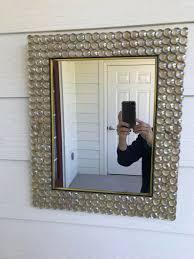 100 Decorated Wall Mirror Gems Mirror Hangle Decor Etsy