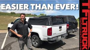 Next Generation Truck Bed Topper: How Quickly Can It Fold? (Video ... Leer 122 Truck Cap Amazoncom Bestop 7630435 Black Diamond Supertop For Bed Pics Of Truck Bed Caps Page 2 Nissan Titan Forum Image Result Nissan Titan Bed Topper Vehicles Tundra Retractable Cover For Utility Trucks Pickup Storage Ranger Design Extang Americas Best Selling Tonneau Covers Caps Topper Becomes Livable Ptop Habitat F150profileolandaretrucktoppdenver Suburban Toppers Pros And Cons Having A Cap On Your Ar15com