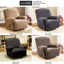 Stretch Slipcovers For Sofa by Decorating Comfortable Cream Slipcovers For Recliners For Elegant