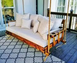 dekorative veranda schaukel familie holzschaukeln für garten balkon patio schaukelbett stilvolle hängende schaukel tagesbett holz bauernhof