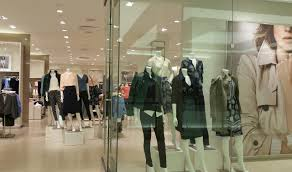 Clothing Store Showcase Retail