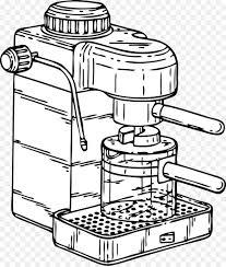 White Coffee Espresso Cafe Clip Art