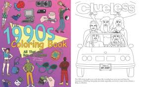 THE 1990s COLORING BOOK ALL THAT AND A BOX OF CRAYONS BY JAMES GRANGE Price Guide Hard Copy 15 20AUD From EBay