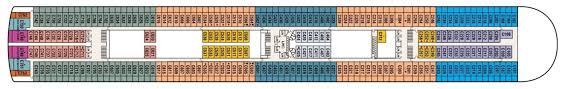 Grand Princess Deck Plan by Ruby Princess Cruises U0026 Deals 2017 2018 Thomas Cook