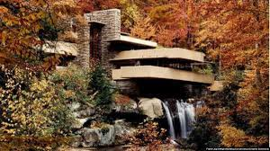100 Water Fall House Famous American Sits On Top Of A Fall