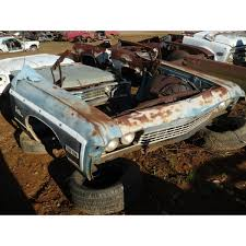 1968 Chevy Caprice Stationwagon Frontend - Headlight - Bezels - Trim ...