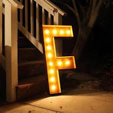 Led Letter Lights Resume Aciertaus