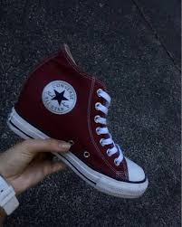100 Star Lux Converse All Hidden Wedge Heels On Carousell