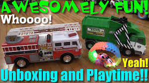 Toy Vehicles For Kids: TONKA Mighty Motorized Fire Rescue Truck And ... Funrise Toy Tonka Mighty Motorized Garbage Truck Ebay Bowen Toyworld All Videos Produced 124106 Approved Meijercom Toys Buy Online From Fishpondcomau Uk Fleet Site Luca Opens His New Youtube Mighty Motorized Front Loader With Lights And Trucks Take A Look At This Friction Powered Light Sound Tonka Digging Tractor Big Rig In Box 3000 Vehicle Frontloader Waste
