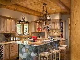 Log Cabin Kitchen Awesome Log Cabin Rustic Kitchen Log Cabin