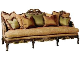 Marge Carson Sofa Pillows by Marge Carson Living Room Marquesa Sofa Ma43 Hickory Furniture