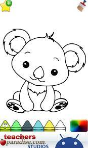 Baby Animals Coloring Book Screenshot