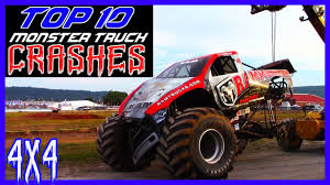 100 Monster Truck Crashes TOP 10 As Of 2018 YouTube