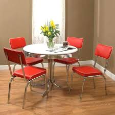 Retro Kitchen Table Dining Room Chairs Medium Size Of Vintage Set White