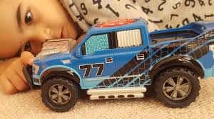 100 Toy Ford Trucks DICKIE S F150 Pick Up Music Truck Drive Forwards And