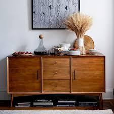 Mid Century Modern Sideboard Regarding Buffet 57 West Elm Design 16