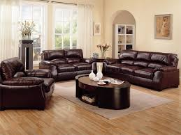 living room decorating ideas with dark brown sofa