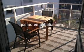 wood plastic outdoor deck interlocking plastic floor tiles for