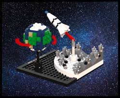 100 Lego Space Home LEGO IDEAS LEGO Moments In From The Moon To
