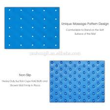 Bathtub Mat No Suction Cups by Anti Slip Bath Mat With Super Grip Suction Cups Rubber Mat Buy