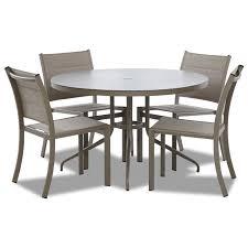 100 Urban Retreat Furniture Contemporary 5 Piece Outdoor Dining Set