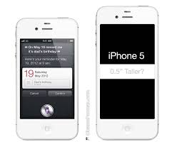 New 4 Inch iPhone 5 Rumored with Taller 1136 x 640 Display