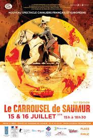 carrousel du cadre noir de saumur spectacle équestre cheval event