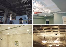Vinyl Drop Ceiling Tiles 2x2 by Madison Coffered Drop Ceilings White