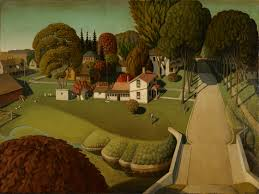 Famous American Mural Artists by Grant Wood Wikipedia