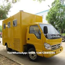 100 Snack Truck China Cheap Price Diesel Van Food Fastfood Machine Vehicle