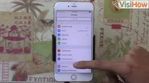 Enable or Disable Location Services on an iPhone 6s Plus VisiHow