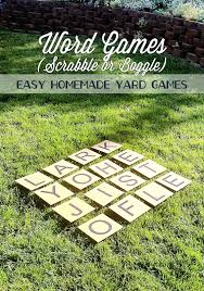 Cardboard Yard Games (Scrabble Or Boggle) -- This Summer, You Can ... 2 Crafty 4 My Skirt Round Up Back Yard Games Amazoncom Poof Outdoor Jarts Lawn Darts Toys These Fun And Funny Minute To Win It Are Perfect For Your How Play Kubb Youtube The Best 32 Backyard That You Can Enjoy With Your Loved Ones 25 Diy Unique Games Ideas On Pinterest Diy Giant Yard Rph In Blue Heels 3rd Annual Beer Olympics