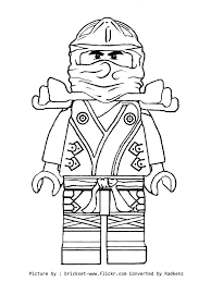 Awesome Ninjago Coloring Pages 61 For Your Adults With