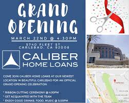 Ribbon Cutting and Grand Opening Caliber Home Loans
