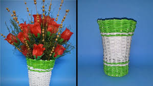 Paper Made Flower Vase How To Make