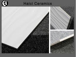 interior decoration 300x600 bathroom ceramic wavy white wall tile