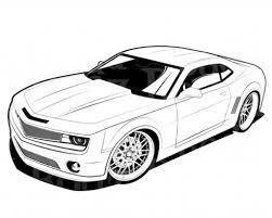 Innovative Car Coloring Page 20