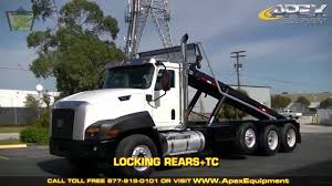 2013 CAT Roll Off Truck - YouTube Rolloff Truck And Container Auto Parts U Pull Scrap Metal Of Jj Bodies Trailers Rolloff Hoist Truckdynahauler Med Heavy Trucks For Sale Used 2008 Intertional 5900i Rolloff Truck In Ms 6615 The Mack Roll Off Hammacher Schlemmer Rolloff Truck 2 I Like The Functionality Lego Technic Flickr Minirollofftruck Synchrolink Dump Work Granite 492014 Youtube Peterbilt Heavy Equipment Photos Jwh Hydraulics Ltd Waste Management Rolloffs Isuzu Mini Dumping 5 Yards Dirt Big Bens Junk