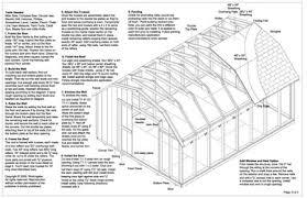 8x12 Storage Shed Blueprints by Oko Bi Gambrel Shed Plans 8x12 Details
