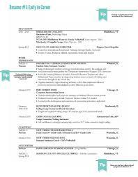 Sample Resume Series Part I New Teacher