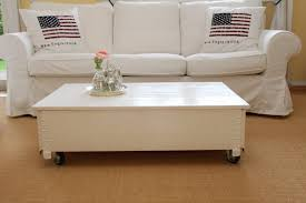 coffee table chest living room sofa solid wood vintage