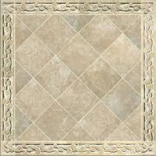 crafted carved travertine tile border by artisan fabricating