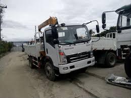Sinotruk Homan Boom Truck 3.2tons 6wheeler - Philippines Buy And ...