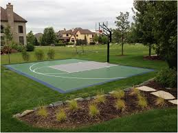 Backyards : Superb Backyard Basketball Court 86 No Concrete ... Backyard Basketball Court Multiuse Outdoor Courts Sport Sketball Court Ideas Large And Beautiful Photos This Is A Forest Green Red Concrete Backyard Bar And Grill College Park Go Green With Home Gyms Inexpensive Design Recreational Versasport Of Kansas 24x26 With Canada Logo By Total Resurfacing Repairs Neave Sports Simple Hoop Adorable Dec0810hoops2jpg 6 Reasons To Install Synlawn Small Back Yard Designs Afbead