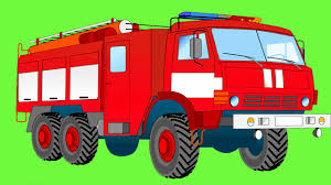 100 Fire Truck Cartoon Trucks AbeonCliparts Cliparts Vectors